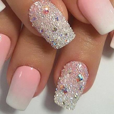 Pixie Swarovski Crystal 1 000 Pcs Nail Art Micro Zircon Mini Rhinestone Stones Gems Crystals Charms Beads Clear Or Ab Nailart Affiliate