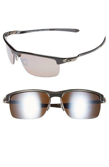 Estilo Masculino · Óculos De Sol De Marca · Men s Oakley  Carbon Blade   66mm Polarized Sunglasses - Titanium b2592492c6