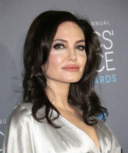 tied Angelina up jolie