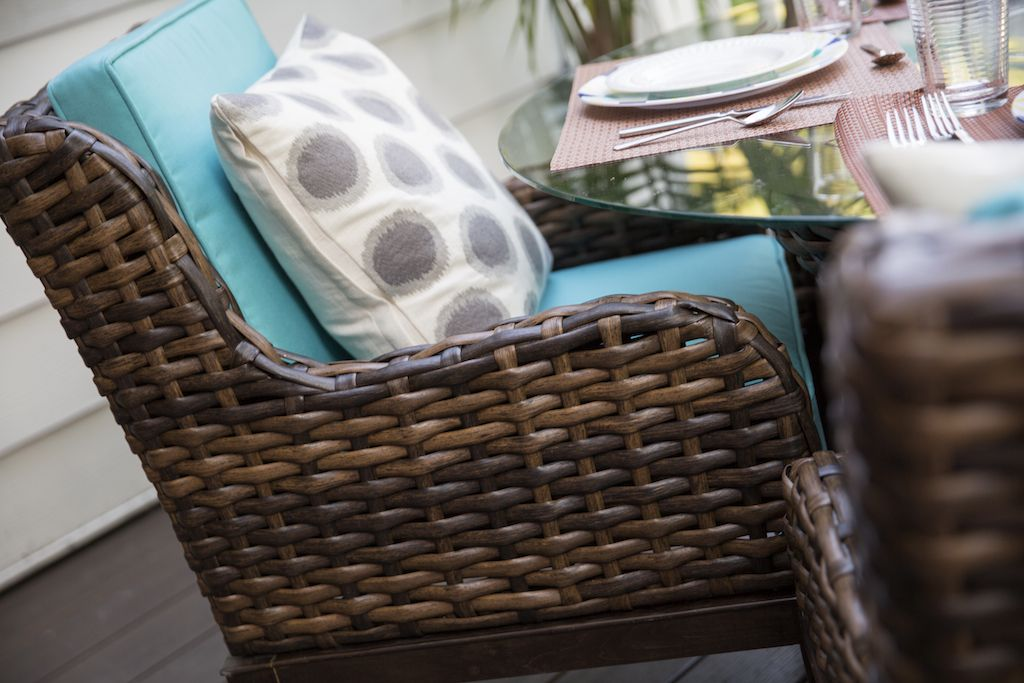 Deck   Patio Furniture   SCOTT LIVING   Wicker laundry ...