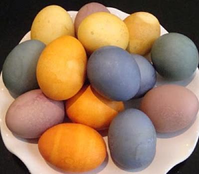 At home easter egg dye!   Easy