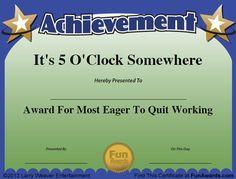 Funny Awards