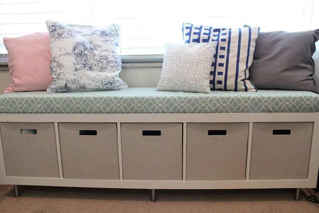 Best Idea Of Extra Long Storage Bench For Large Room Space
