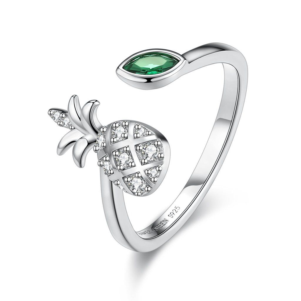 Womens 925 Sterling Silver High Polished Claddagh Ring
