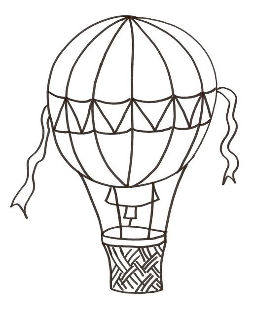 Hot Air Balloon Coloring Page Coloring Pages Valentines Day Coloring Page Coloring Pages For Grown Ups