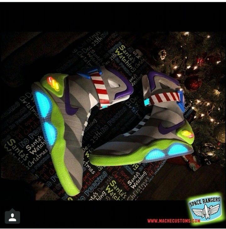 Toy story Buzz Lightyear custom Nike