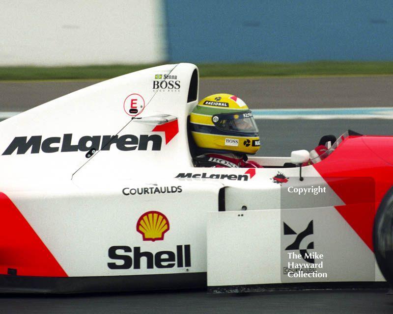 Ayrton Senna, McLaren MP4/8, European Grand Prix, Donington, 1993 - #f1 #formula1