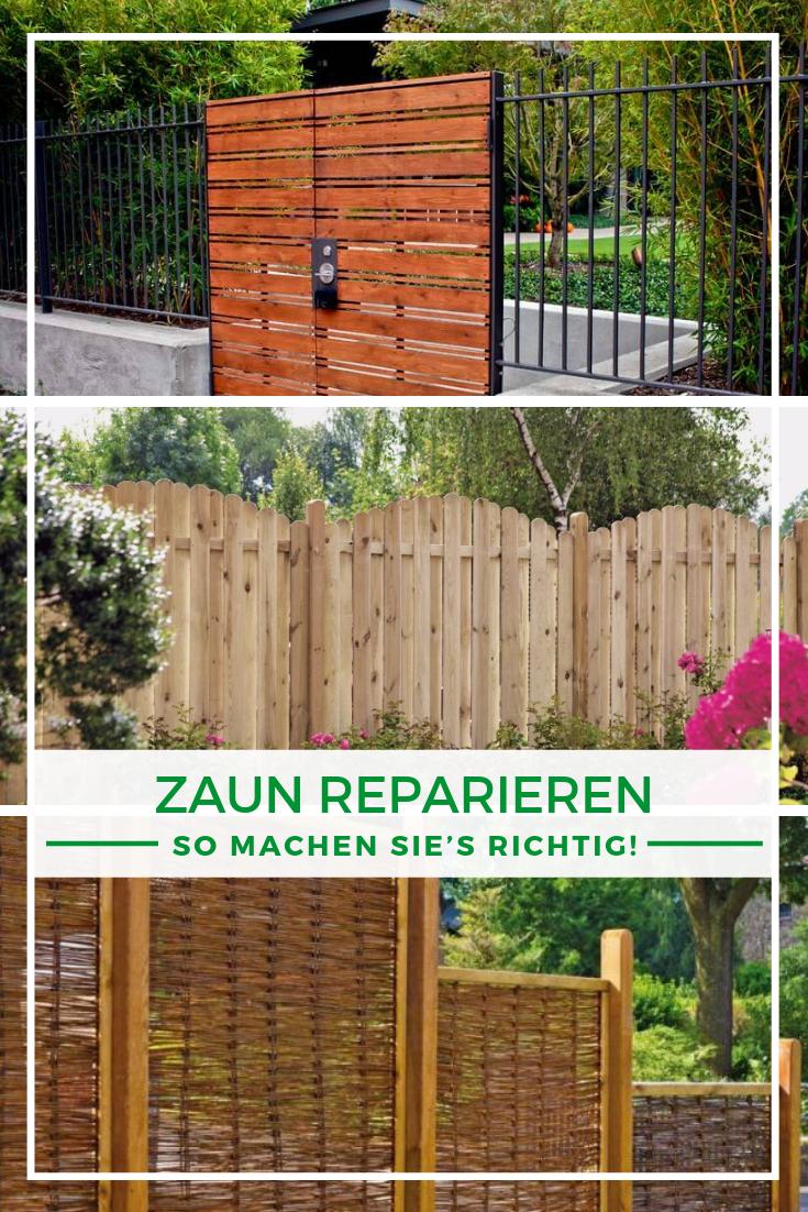 Zaun reparieren So machen Sie's richtig! (mit Bildern