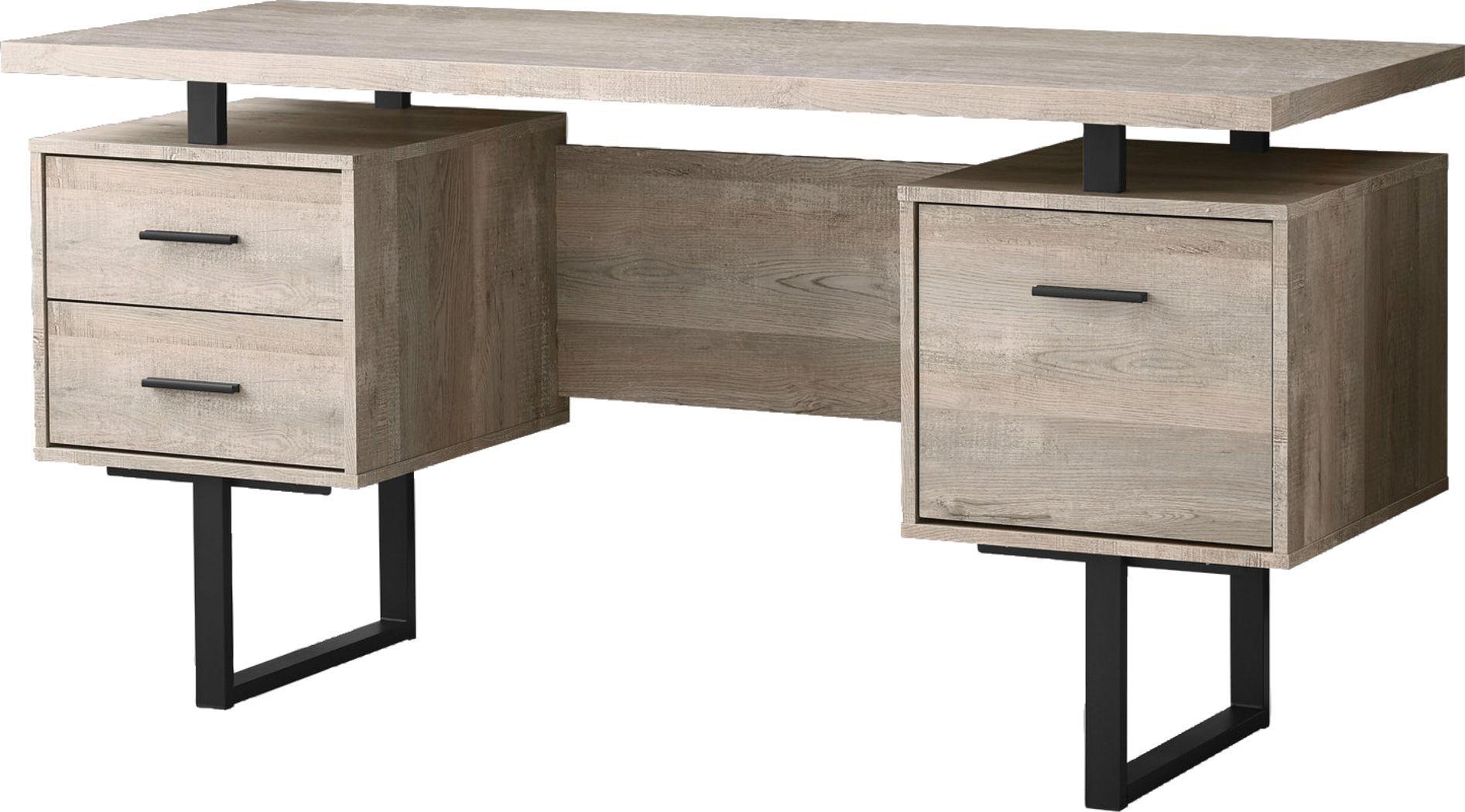 Wisterwood Taupe Desk In 2020 Office Desk For Sale Desk Wood