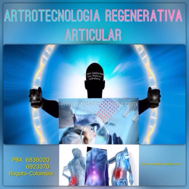 Artrotecnología de avanza para la Artrosis en Bogotá PBX: 6923370