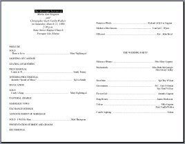 church order of service program template koni polycode co