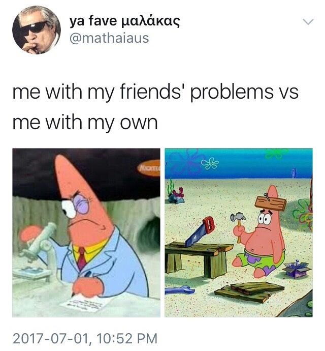 That one time you relate to Patrick Star...
