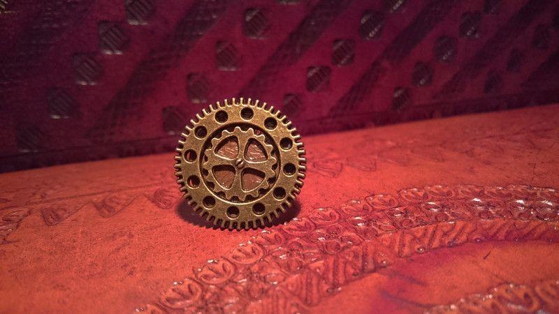 Steampunk-Schmuck - Steampunk Ring *Clockwork III* Antik Look *Unikat* - ein Designerstück von seelan bei DaWanda