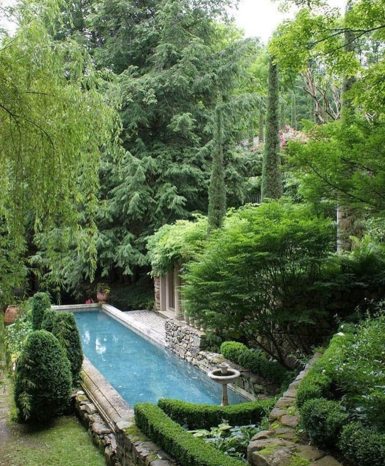 Pin By Rom Architecture Studio On Outdoor Spaces Garden Pool Beautiful Gardens Gorgeous Gardens