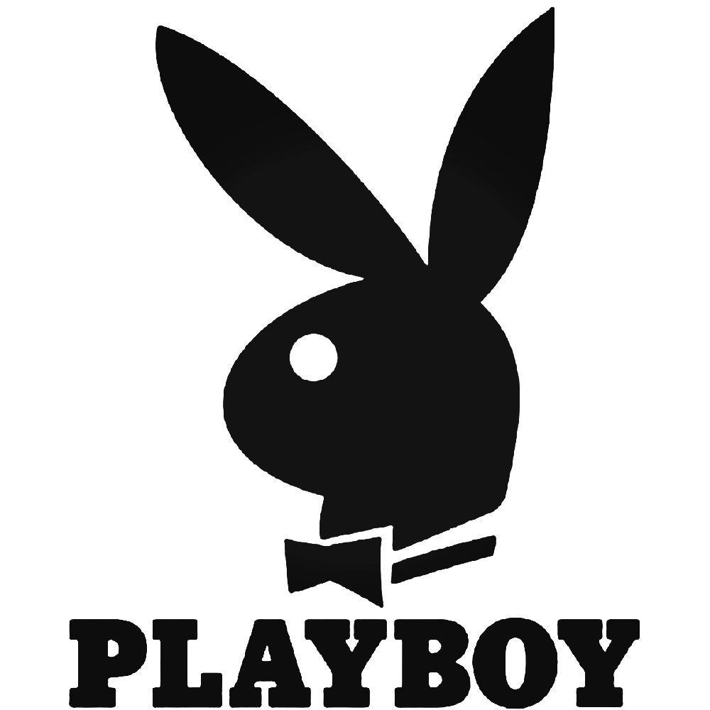 Logo Playboy Custom Stickers