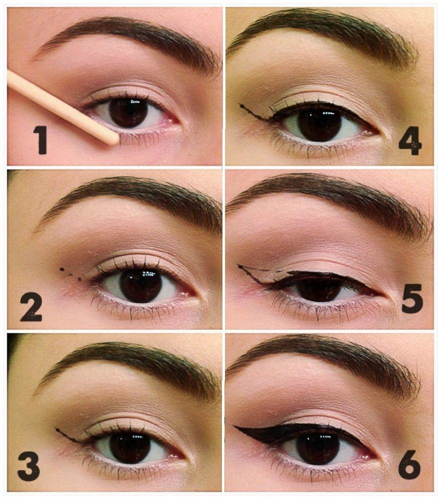 Pin by San Juana on makeup | Pinterest | Makeup, Apply eyeliner ...