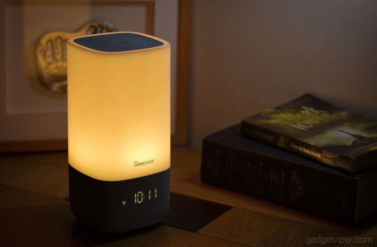 A detailed review of the Sleepace Nox with demo videos. The Nox is a smart sleep-aid, sleep monitor and natural wake up light, powered by a smartphone app.