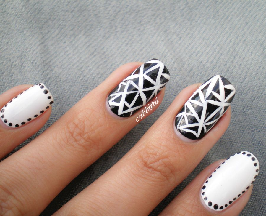 Pictures of black nail designs httpmycutenails artificial nails pictures of black nail designs prinsesfo Images