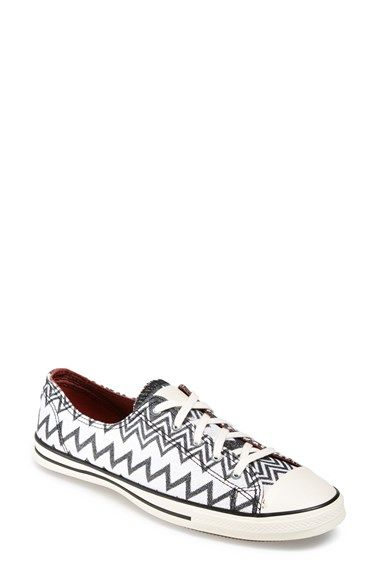 82aa7fe7b1fe73 Converse x Missoni Chuck Taylor® All Star®  Fancy  Ox Sneaker (Women)   94.95 available at  Nordstrom Black Egret