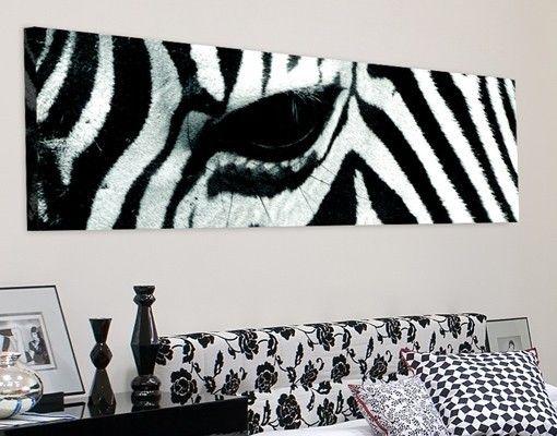 Leinwandbild #Zebra Crossing Panorama #Muster #gemustert #Wanddeko ...