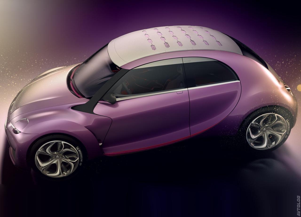 2009 Citroen Revolte Concept Concept Cars 2cv Citroen 2cv