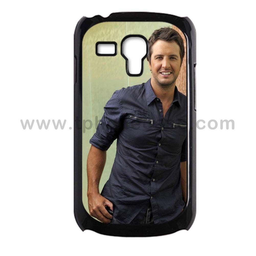 Galaxy S3 Mini Durable Hard Case Design With luke bryan