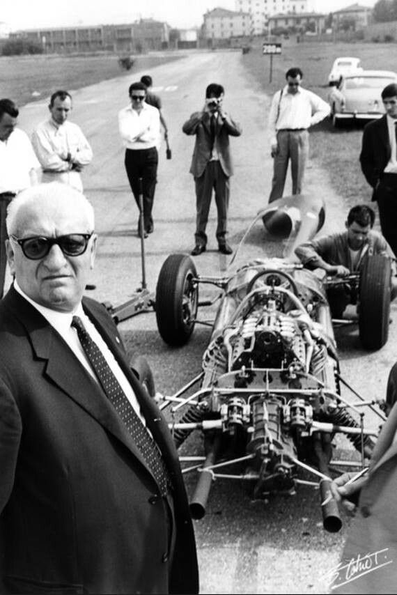 Enzo Ferrari A Legend In Real Life And After He Inspired The