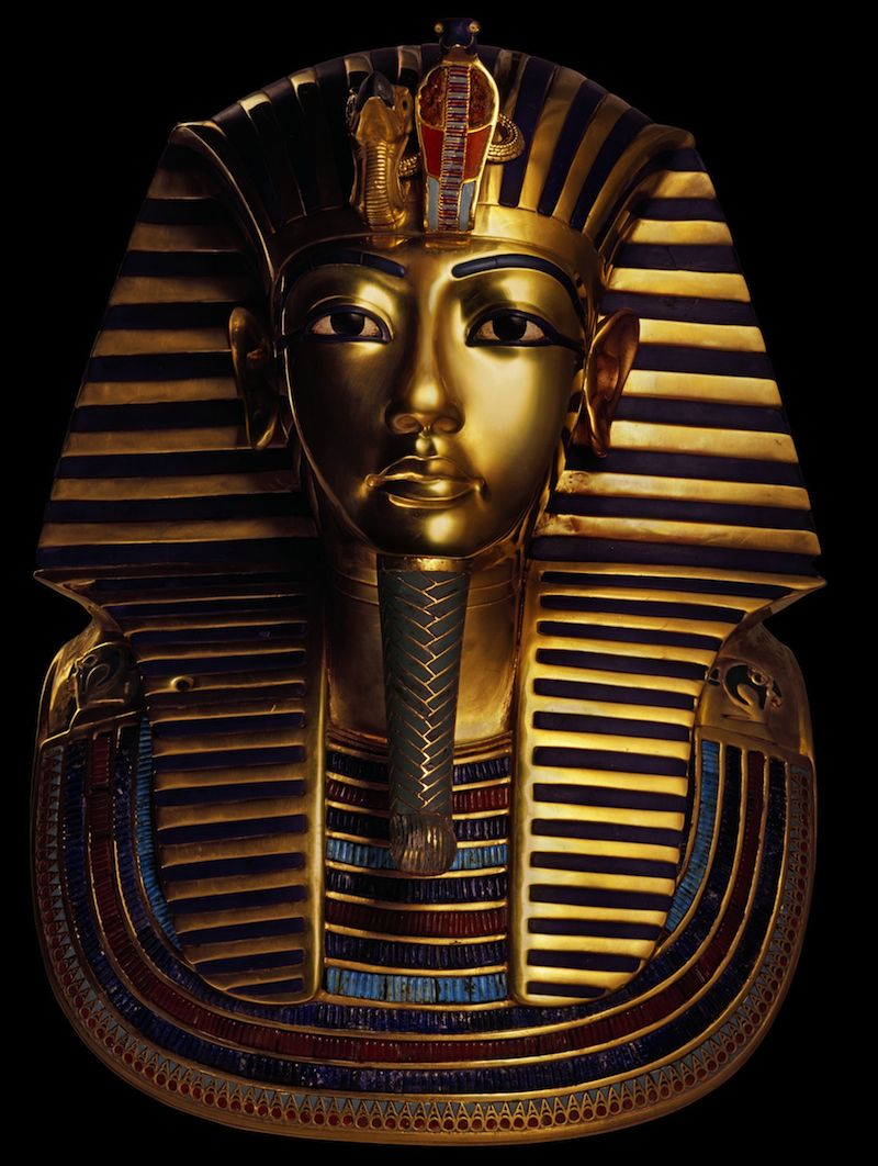 king tut 39 s funeral mask obviously this is a. Black Bedroom Furniture Sets. Home Design Ideas