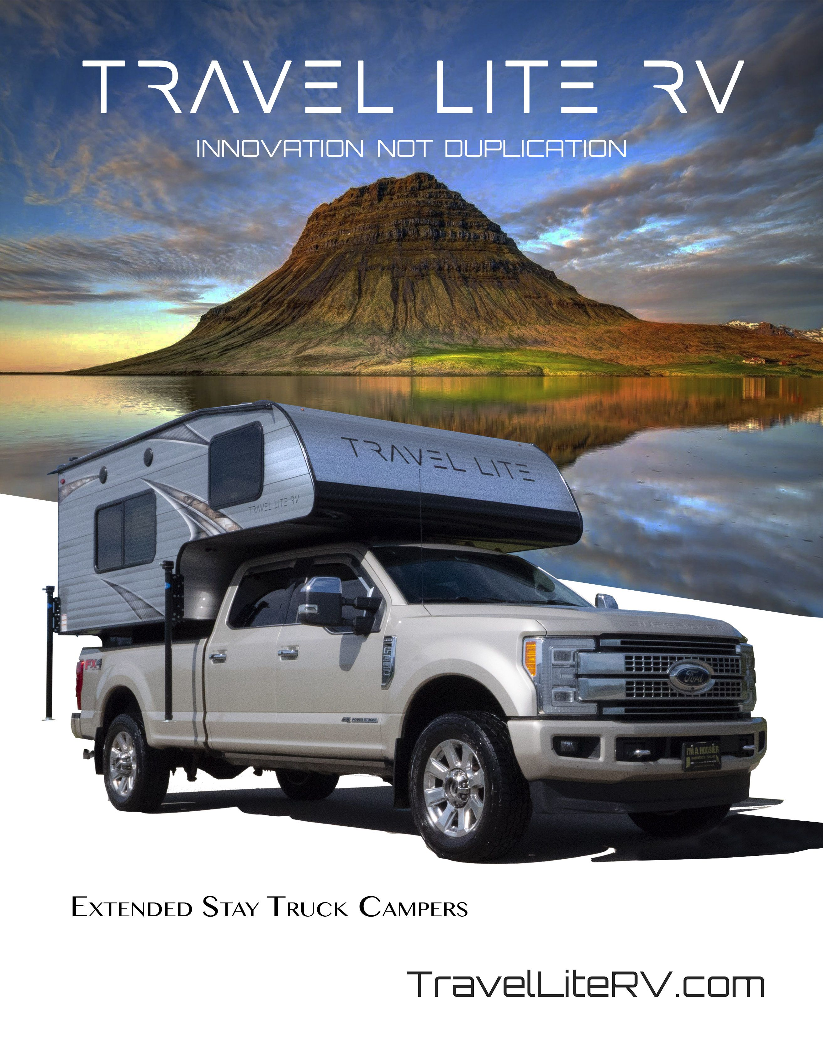 Travel Lite Rv Extended Stay Truck Campers And Floorplans Truck