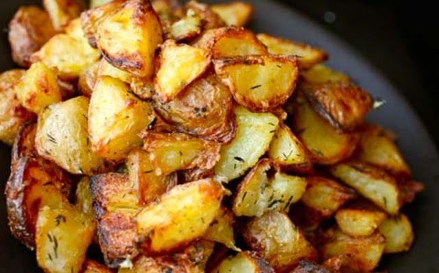 Perfect Roasted Potatoes Recipe   Weight Watchers Recipes