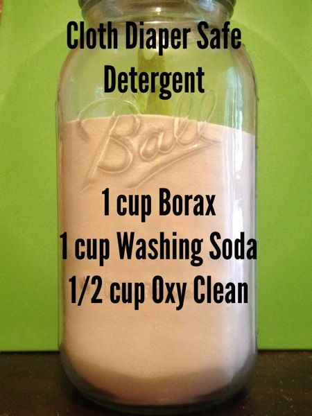How To Cloth Diaper Safe Detergent Porady