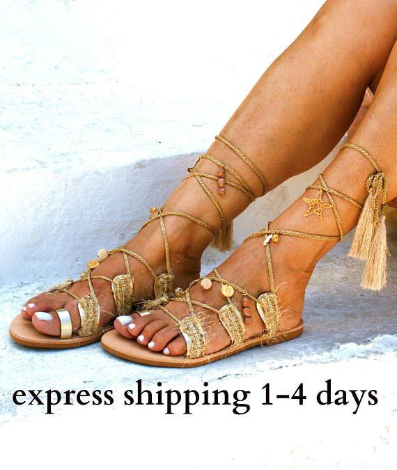 wedding sandals boho sandals greek sandals, tie up sandals leather sandals summer sandals Gladiator sandals