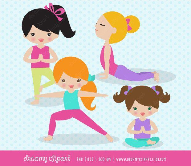 Yoga Clipart Kids Clip Art Images