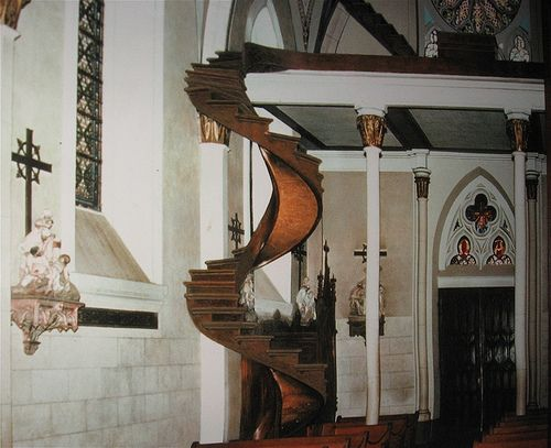 Best Loretto Chapel Spiral Staircase Before Loretto Chapel 400 x 300