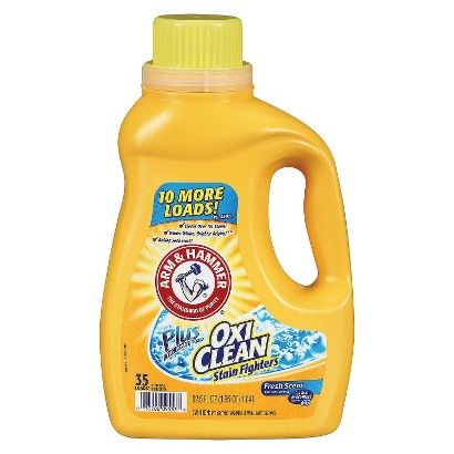 Arm Hammer Plus Oxiclean Laundry Detergent Fresh Scent 35 Loads 62 033200095538 Arm Scented Laundry Detergent Laundry Detergent Liquid Laundry Detergent