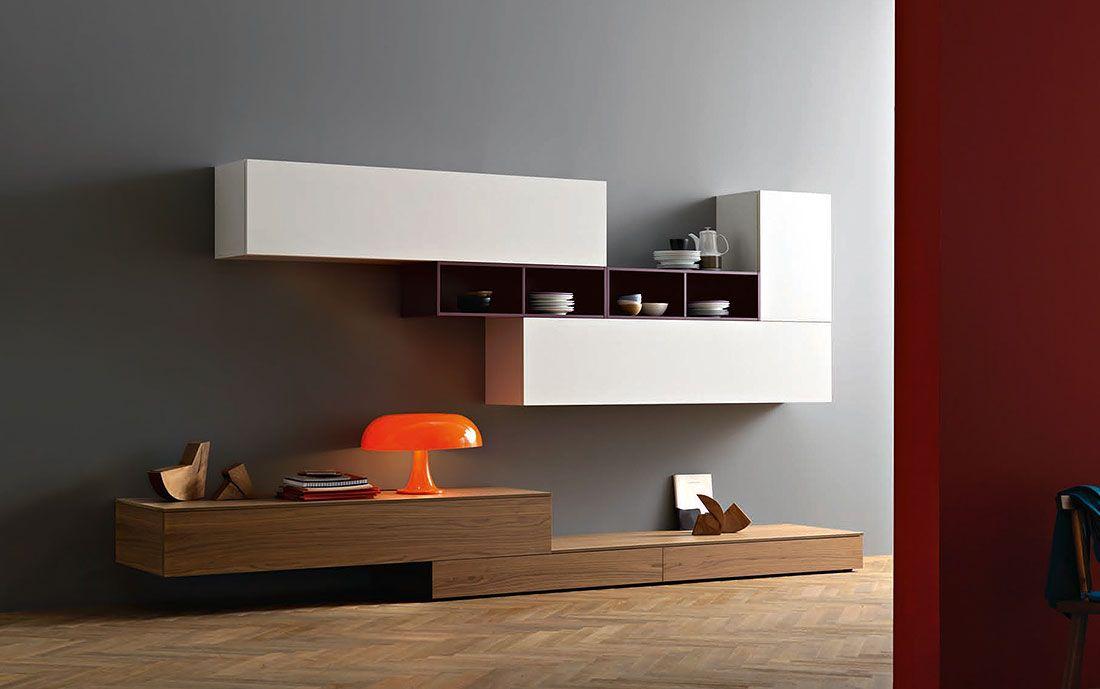 Wohnwand Lampo L2-41 - Möbel / Wohnzimmermöbel / Möbel für
