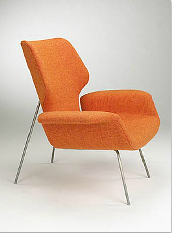 Captivating By Alvin Lustig, 1 9 4 9, Chair For Paramount Furniture, Los Angeles