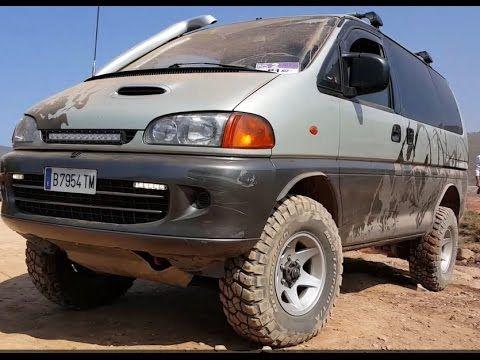 Mitsubishi Space Gear 4x4 L300 Youtube Overland Vehicles Mitsubishi Fj Cruiser Accessories