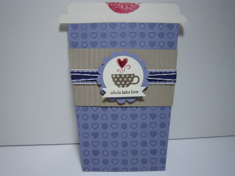 Whole Latte Love Anniversary - Outside by Pam B. - Cards and Paper Crafts at Splitcoaststampers
