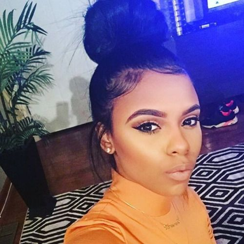 38+ Messy bun with edges trends