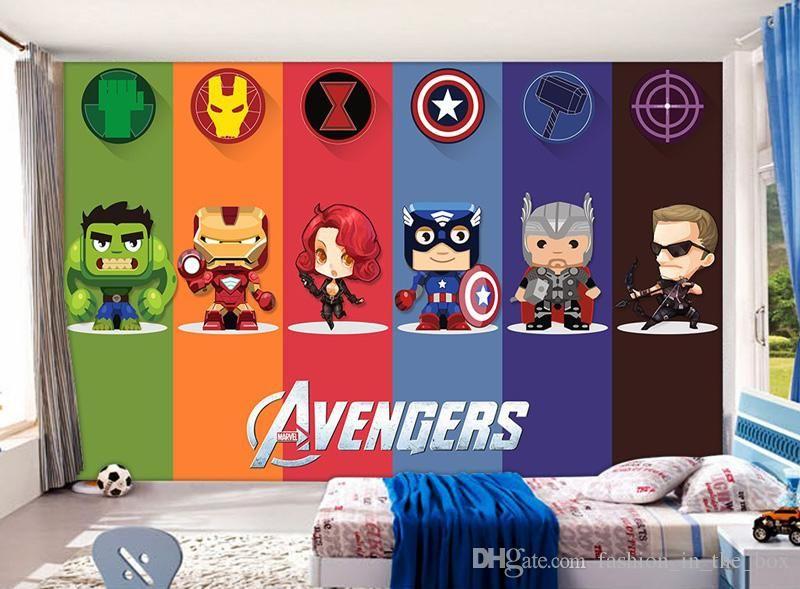 3d Avengers Wallpaper Hulk Badge Wall Mural Photo Wallpaper
