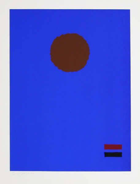 Blue Night, Adolph Gottlieb