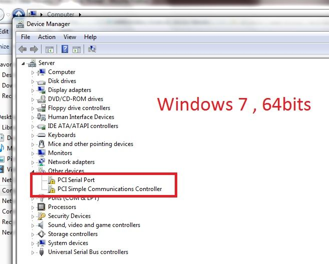 how to install unknown device driver in windows 7