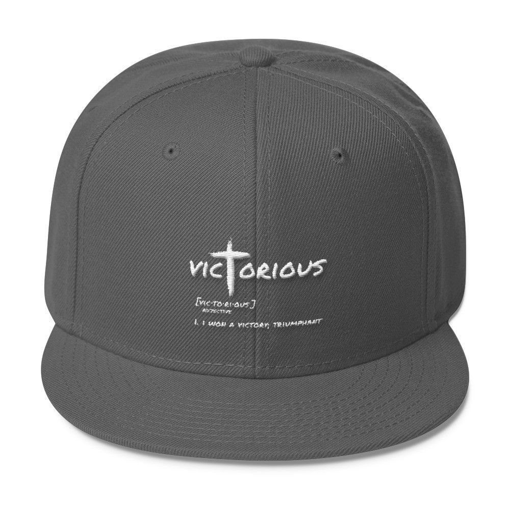 Victorious- Wool Blend Snapback