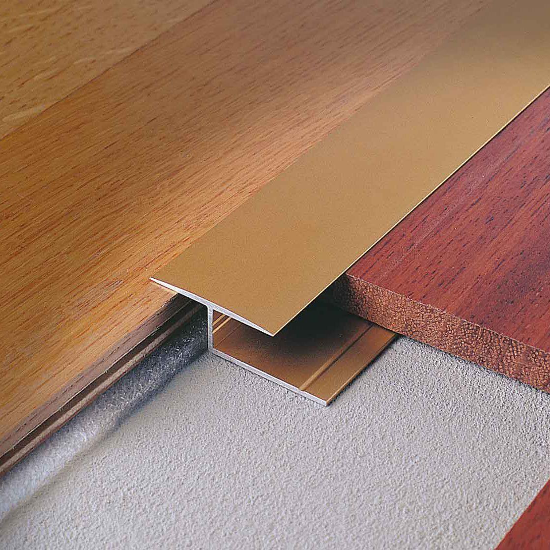 Aluminum edge trim / for tiles WOODTEC LG PROFILITEC