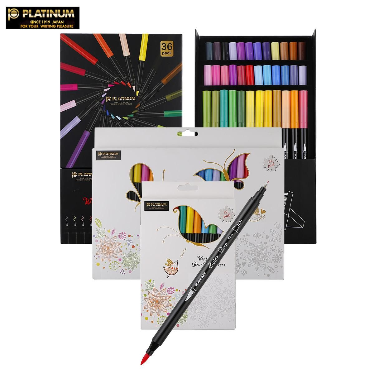 Dual Tip Watercolor Brush Marker Graphic Drawing Manga Soft Brush