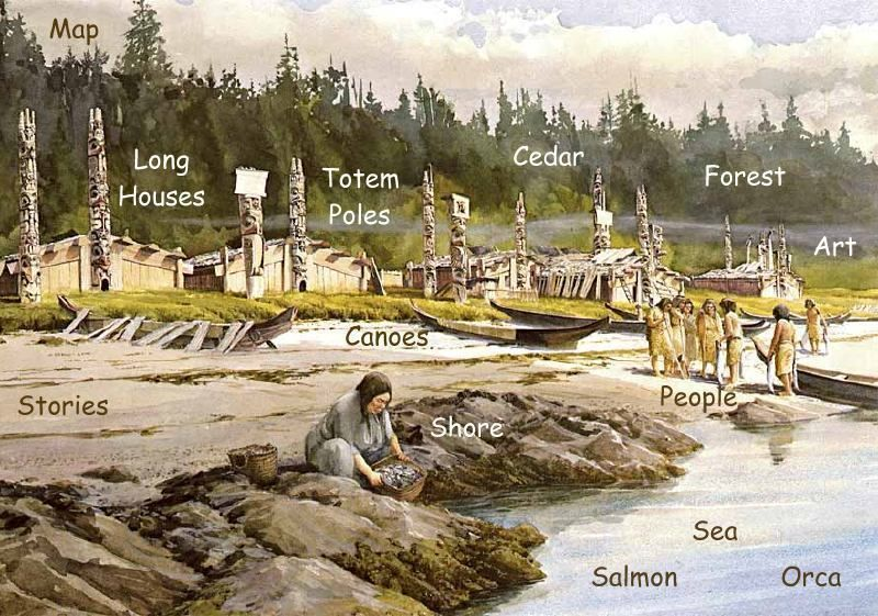 NW Native Americans Kwakiutl Tribe | Social Studies ...