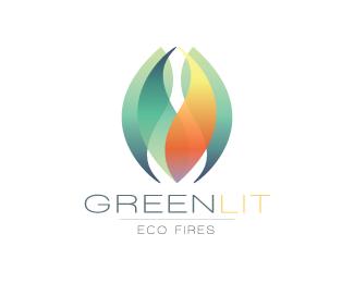 Greenlit By Yatata Graphic Design Logo Globe Logo Logo Design
