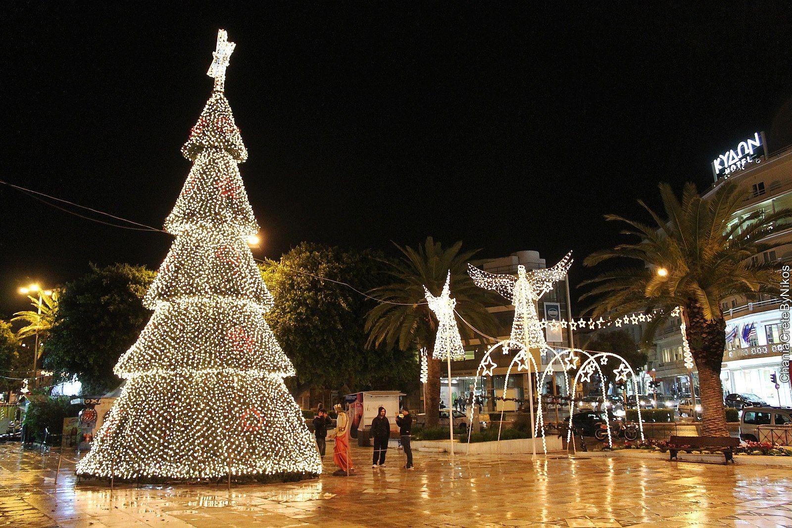 Christmas at Chania, Crete, Greece | Greece, Crete, Beautiful places