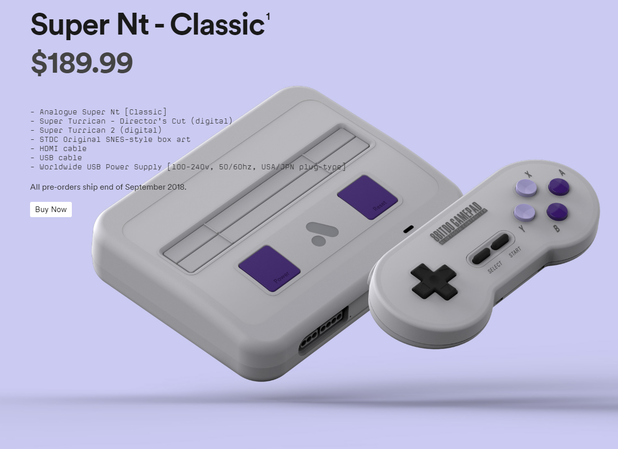Super NT-a new style Super NES with HDMI output-no emulation! | Cool